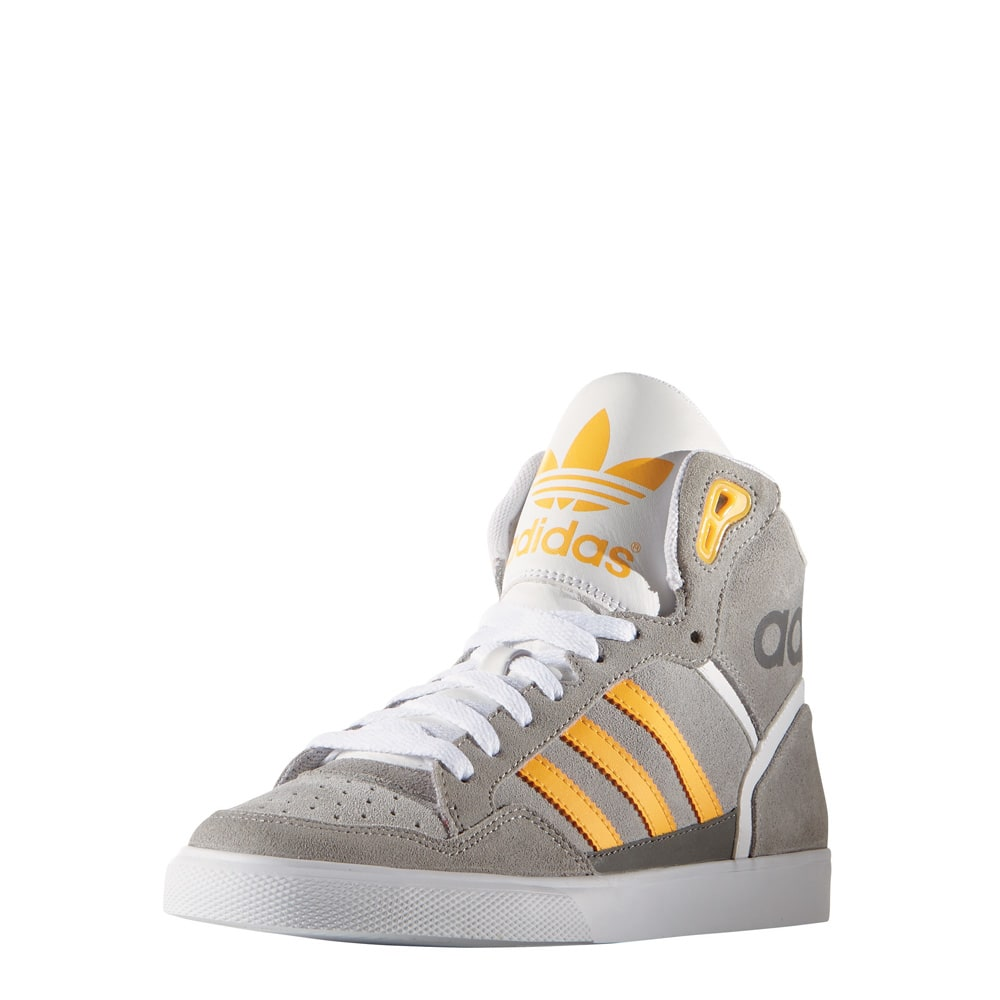 adidas originals extaball w damen sneaker grey yellow. Black Bedroom Furniture Sets. Home Design Ideas