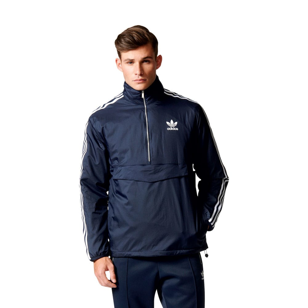 adidas Originals Modern Windbreaker Herren-Jacke Legend ...
