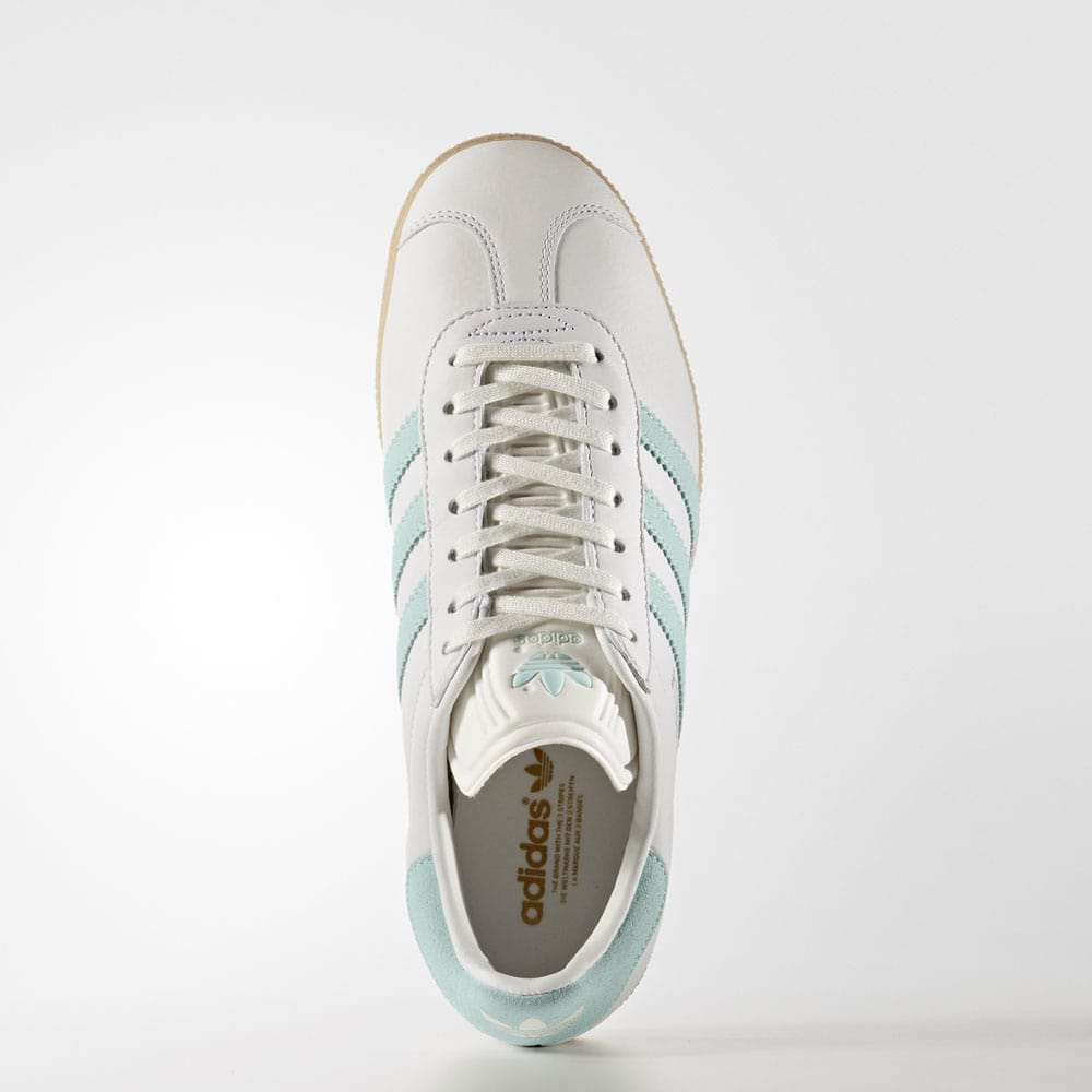 GAZELLE Sneaker low vintage whitevapour green