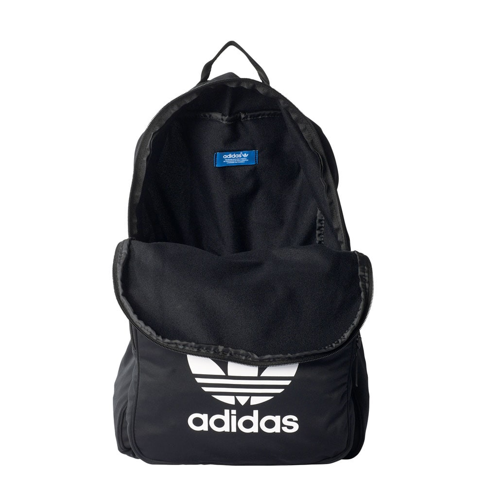 adidas originals backpack classic tricot rucksack black. Black Bedroom Furniture Sets. Home Design Ideas