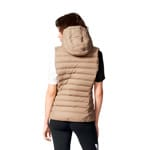 adidas Originals Slim Vest Damen-Daunenweste Clay Brown