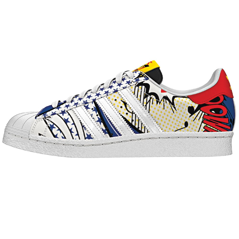 superstars adidas damen bunt