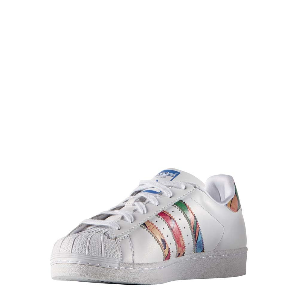 adidas originals superstar w damen sneaker white multicolor online kaufen. Black Bedroom Furniture Sets. Home Design Ideas