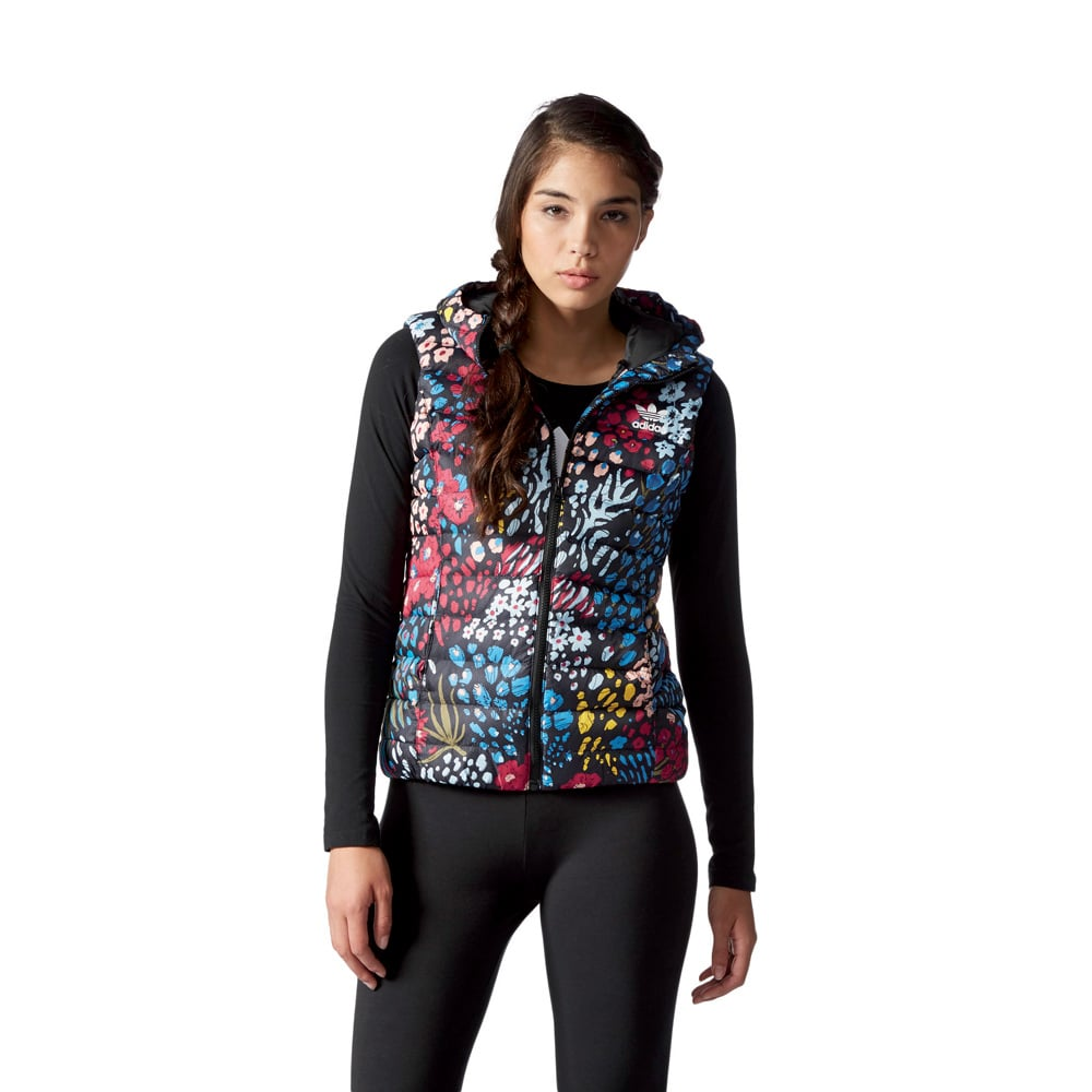 dfb14ad37674 adidas Originals Slim Vest Damen-Daunenweste Multicolor   Fun-Sport ...