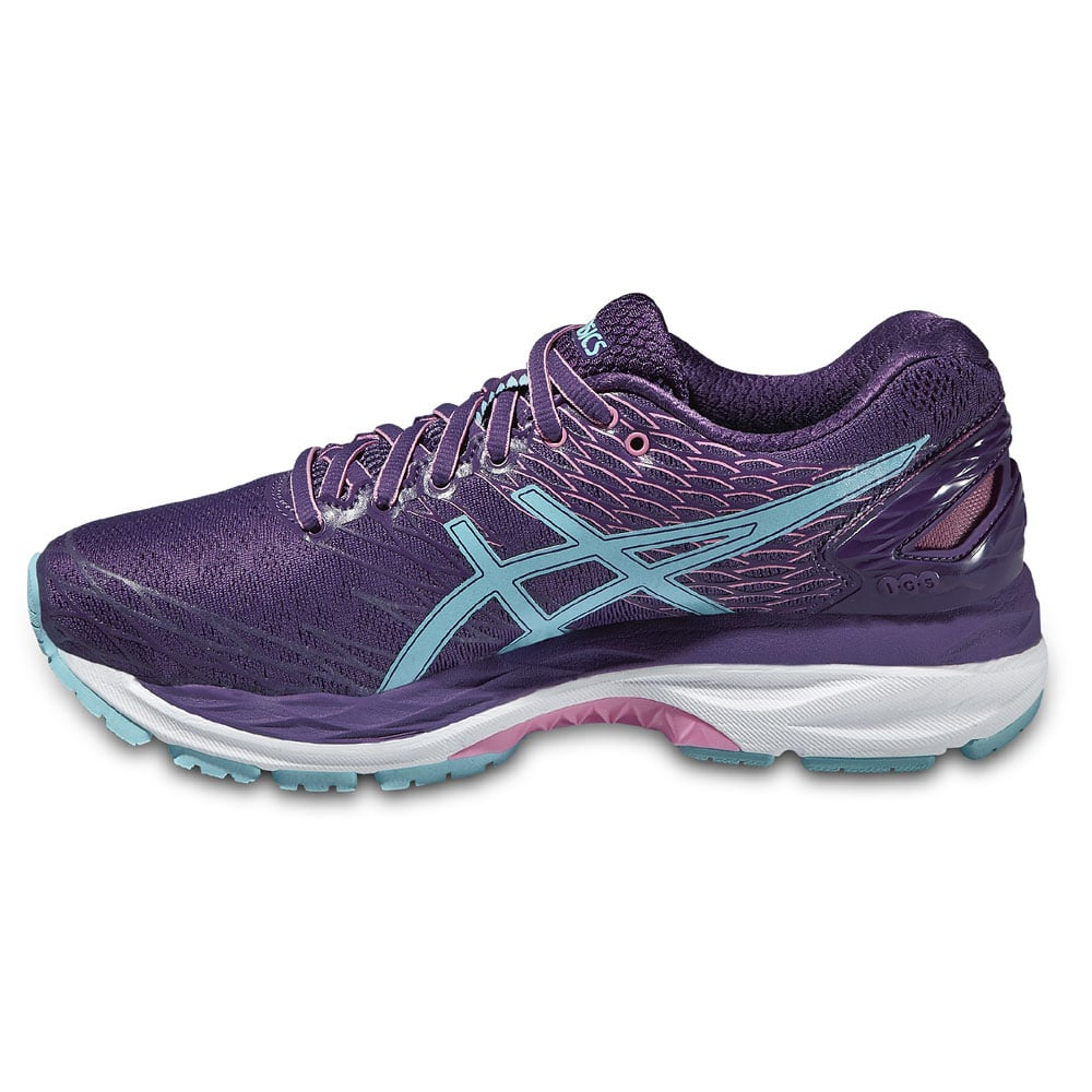 asics gel nimbus 18 damen laufschuhe t650n 3340 purple. Black Bedroom Furniture Sets. Home Design Ideas