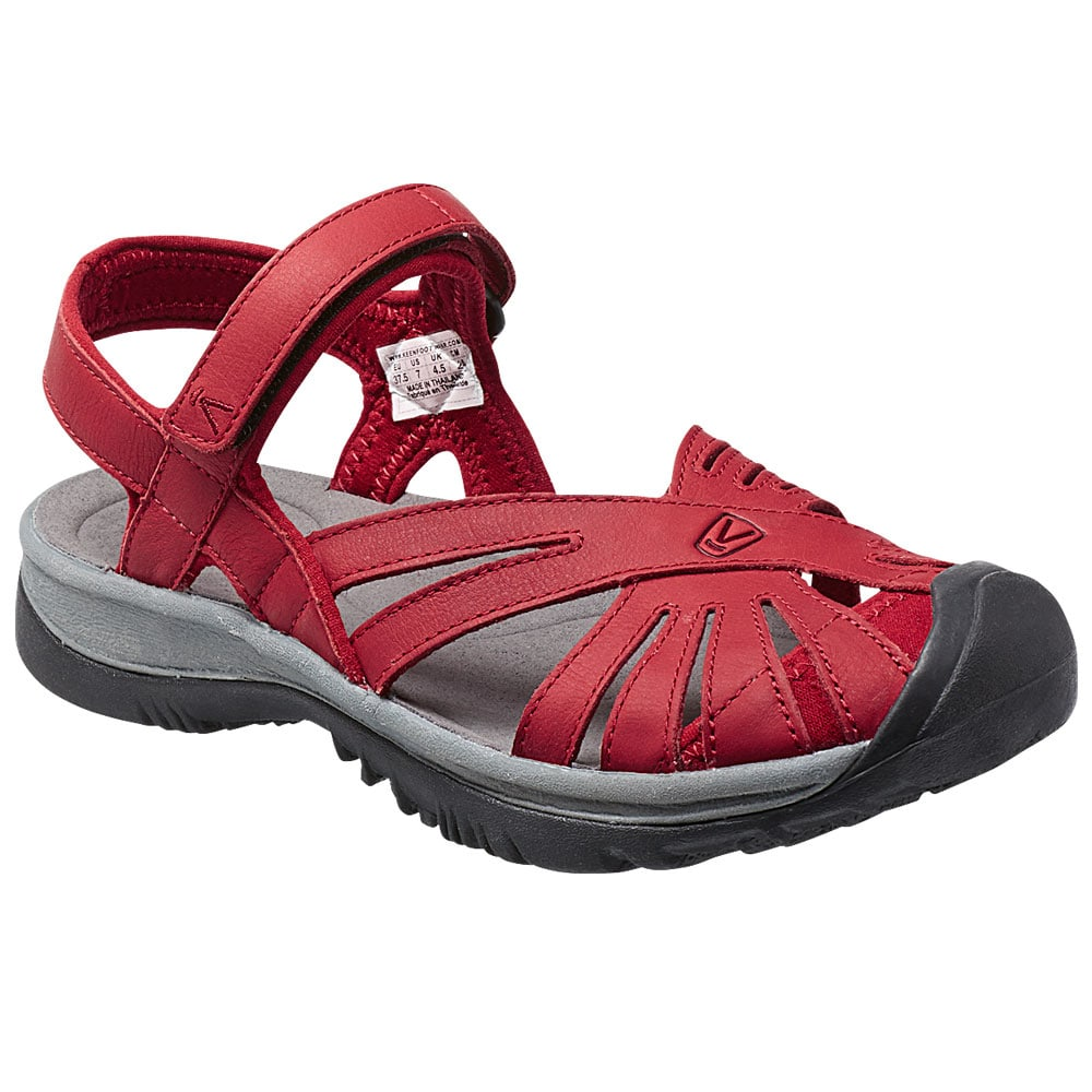 keen rose leather w damen sandalen 1014498 red dahlia gargoyle fun sport vision. Black Bedroom Furniture Sets. Home Design Ideas