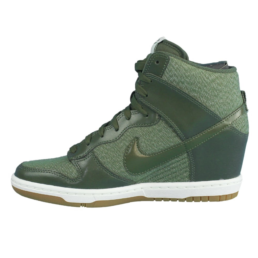 nike dunk sky hi essential schuhe 644877 301 khaki fun. Black Bedroom Furniture Sets. Home Design Ideas