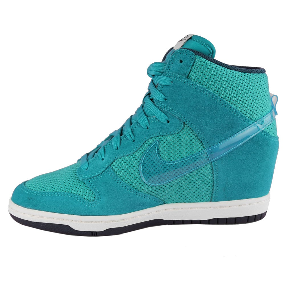women's nike dunk sky high green