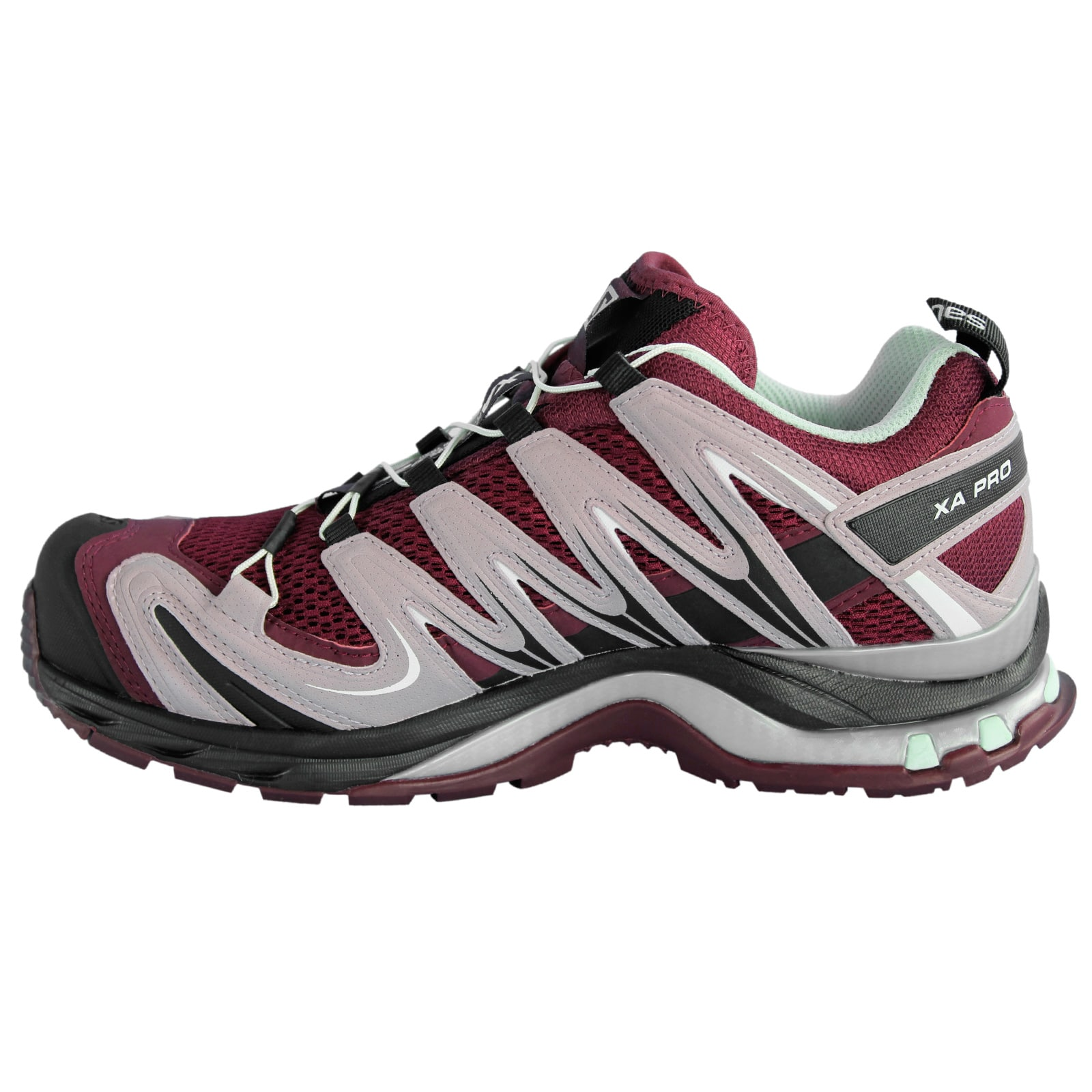 salomon xa pro 3d lady bordeaux trail running shoes,salomon