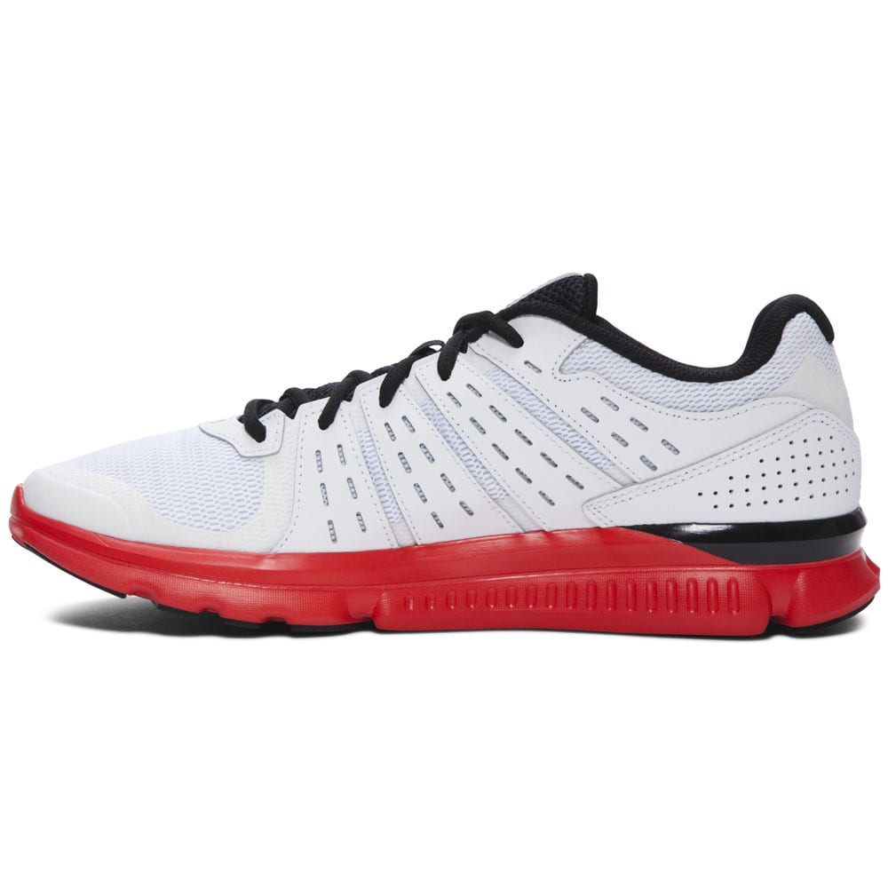 Under Armour Micro G Speed Swift Herren-Laufschuhe Wht/Blk/Red
