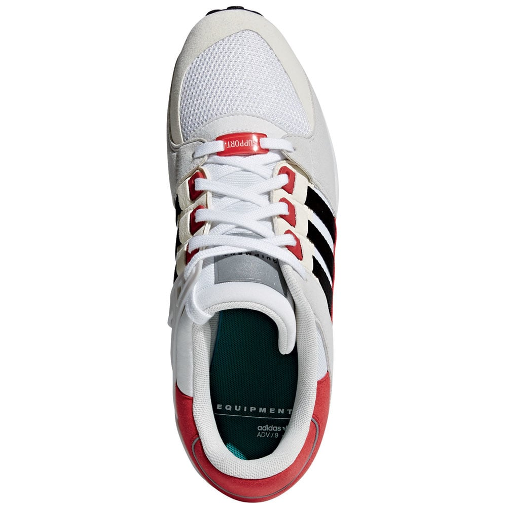 pretty nice 31277 115dd adidas Originals Equipment Support RF Sneaker WhiteBlackScarlet