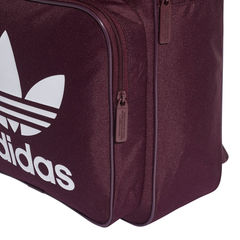 ADIDAS Classic Trefoil Backpack Red Previous Source · adidas Originals Classic  Trefoil Backpack Rucksack Maroon Fun c89c124919eb0