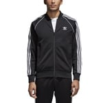 adidas Originals Superstar Track Top Herren-Trainingsjacke Black