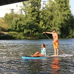 Light Inflatable Platin Sportstourer Stand Up Paddle Board