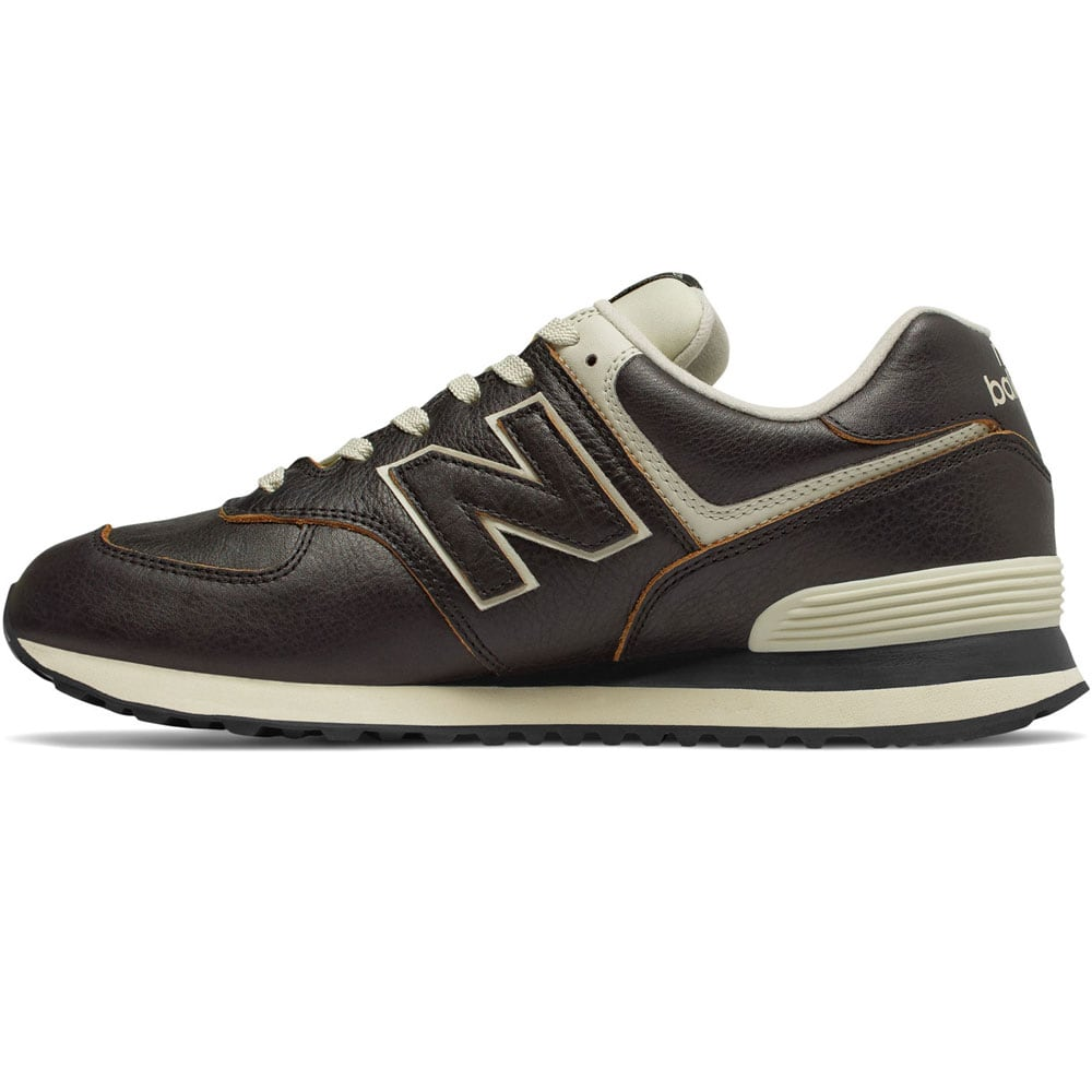 New Balance 574 Leather Halbschuhe 2018
