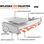 RRD Inflatable Air Evo Convertible Stand Up Paddle Board