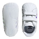 adidas Originals Superstar Crib Footwear White