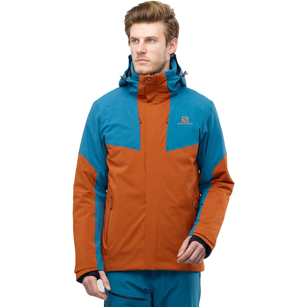 Salomon Icerocket Jacke Herren lyons blue night sky kaufen