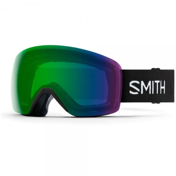 Smith Skyline Black/Chromapop Everday Green Mirror