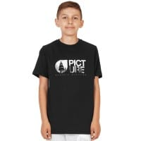 Picture Roots Shirt KTS099 Kinder-Kurzarmshirt Black Gr. 6 (116/122)