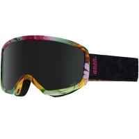 anon Deringer MFI Damen-Skibrille mit Skimaske Black Widow/Dark Smoke