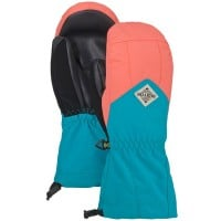 Burton Youth Profile Mitten Kinder-Handschuhe Georgia Peach/Tahoe