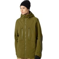 Burton AK 3L Hover Jacket Herren-Snowboardjacke Fir/Jungle