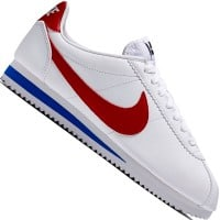 Nike Classic Cortez Leather Sneaker White-Red