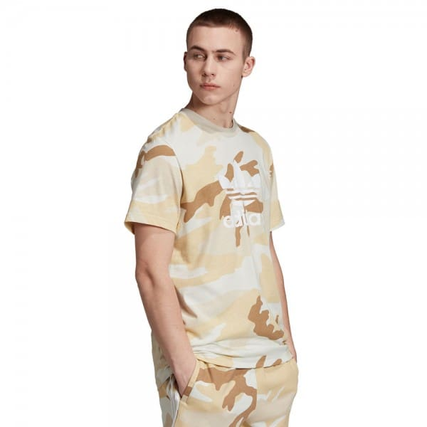 adidas Originals Camouflage Trefoil Tee Multicolor Clear Brown