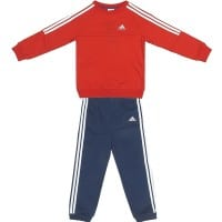 Adidas Infants Crew Jogger Kinder-Jogginganzug S21414 Red/White/Blue