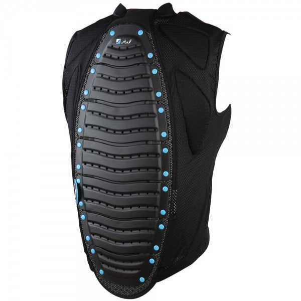 Stuf Man Jacket Back Protector 113193 (Black/Blue)