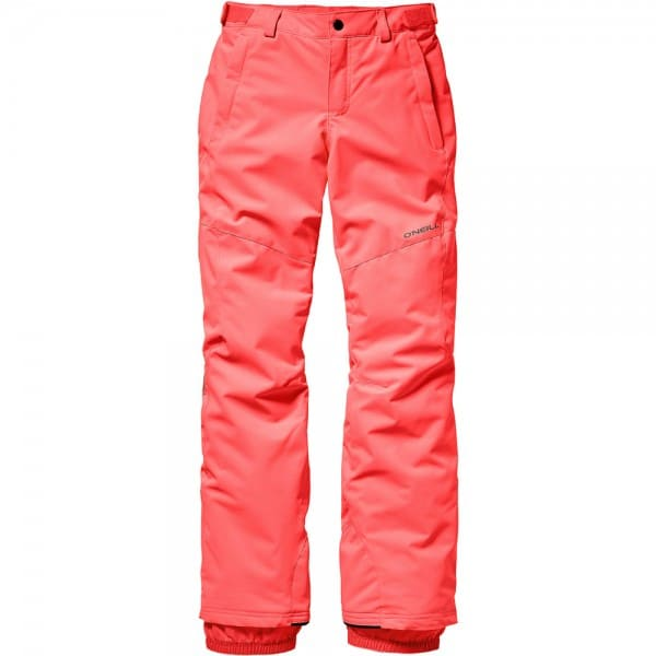 Oneill Charm Pant Kinder-Snowboardhose Neon Tangerine Pink