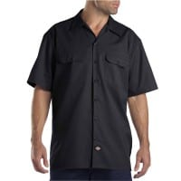 Dickies Short-Sleeve Work Shirt Herren-Hemd Black
