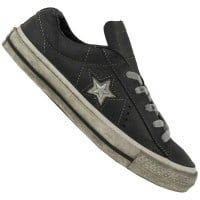 Converse Chuck Taylor All Star ONE Vintage Leather Unisex-Sneake Black