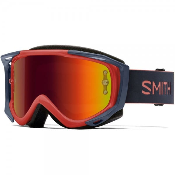 Smith Fuel V.2 Red Rock Red Mirror Clear