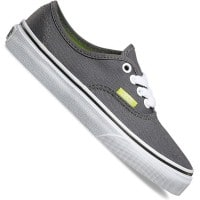 Vans K Authentic Kinder-Sneaker Pop Pewter/Lime Punch