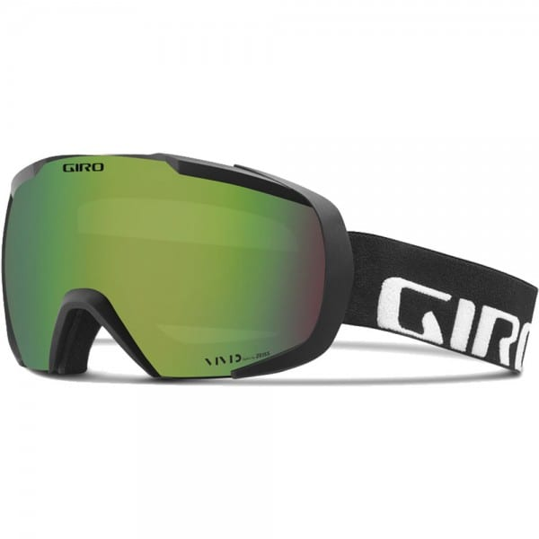 Giro Onset Goggle Skibrille Black Wordmark/Vivid Emerald