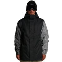 Volcom 17Forty Insulated Jacket Black Check