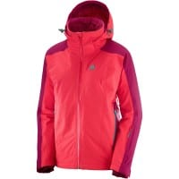 Salomon Brilliant Jacket Hibiscus