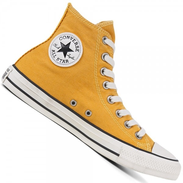 Converse CT All Star Hi Self Expression Sunflower Gold