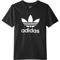 adidas Originals Trefoil Tee Kinder-Shirt Black/White