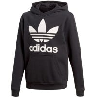 adidas Originals Trefoil Kinder-Kapuzenpullover Black/White