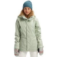 Burton Jet Set Jacket Aqua Gray