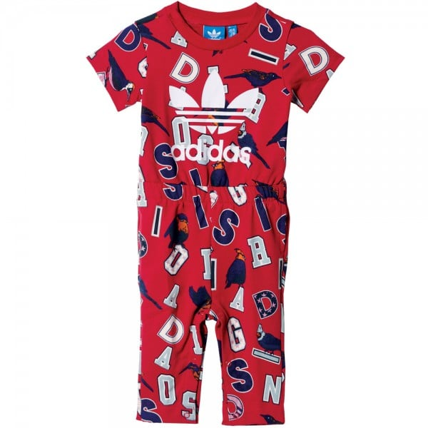 adidas Originals French Terry Jumpsuit Multicolor