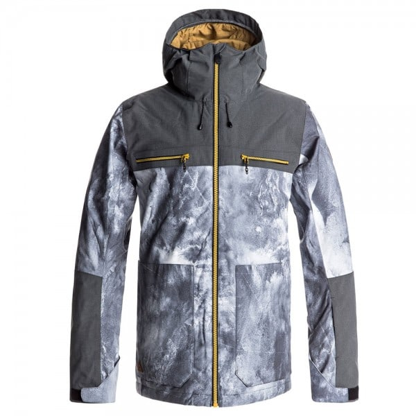 Quiksilver Arrow Wood Jacket Herren-Snowboardjacke Electric Event