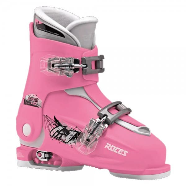 Roces Idea Up Kinder Skistiefel Deep Pink/White