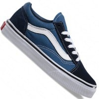 Vans Old Skool Kinder-Sneaker Navy/True White
