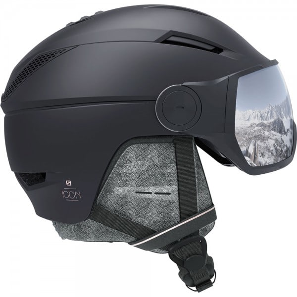 Salomon Icon2 Visor Black