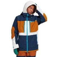 Burton Frostner Jacket Dress Blue True Penny Stout White