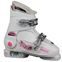 Roces Idea Up Kinder-Skistiefel White/Deep Pink